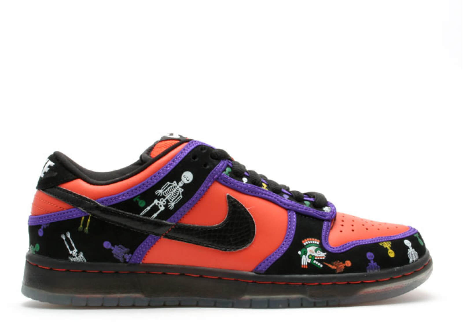 """Nike dunk low premium sb """"day of the dead"""""""