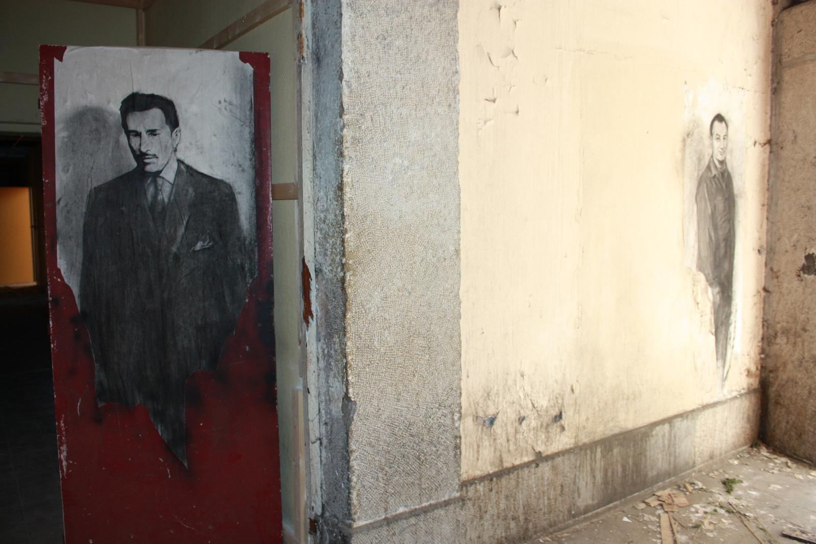 Ernest PIGNON-street-art-oldskull-5