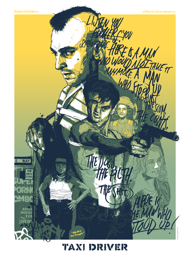 Gabz illustration movie posters 10