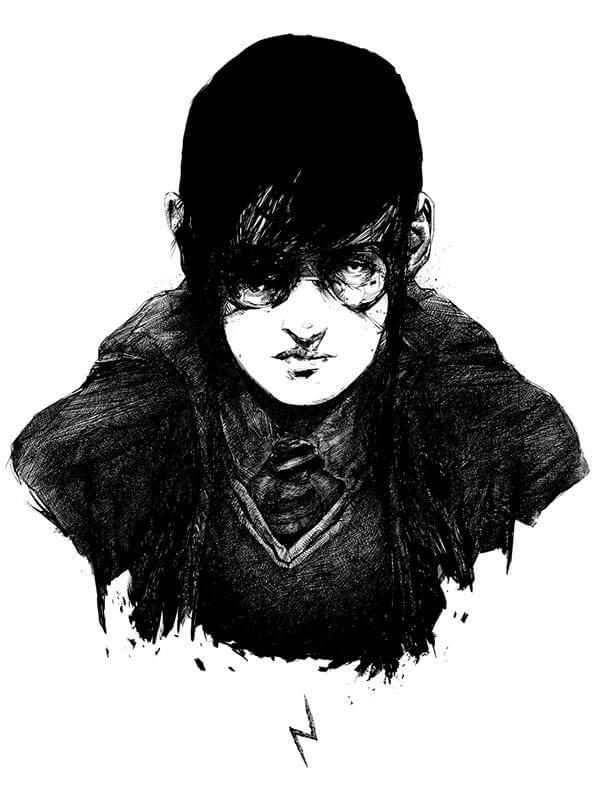 hafaell illustration oldskull 5