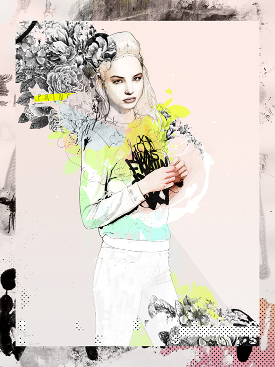 Raphael vicenzi collages and illustrations 1
