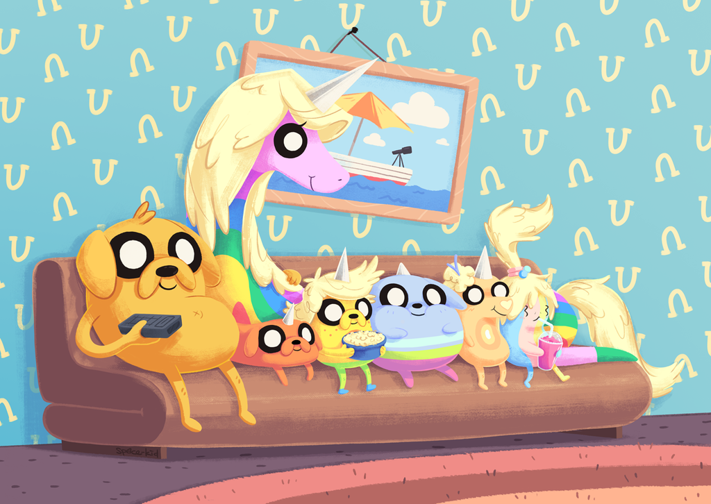 the_jakesons hora de aventuras