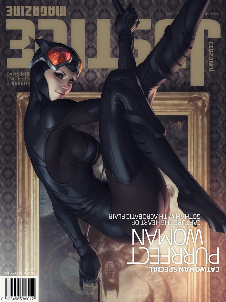 catwoman-illustration-oldskull