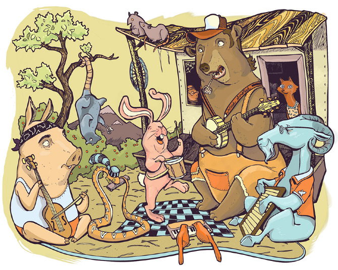 Nick sirotich illustration jamboree
