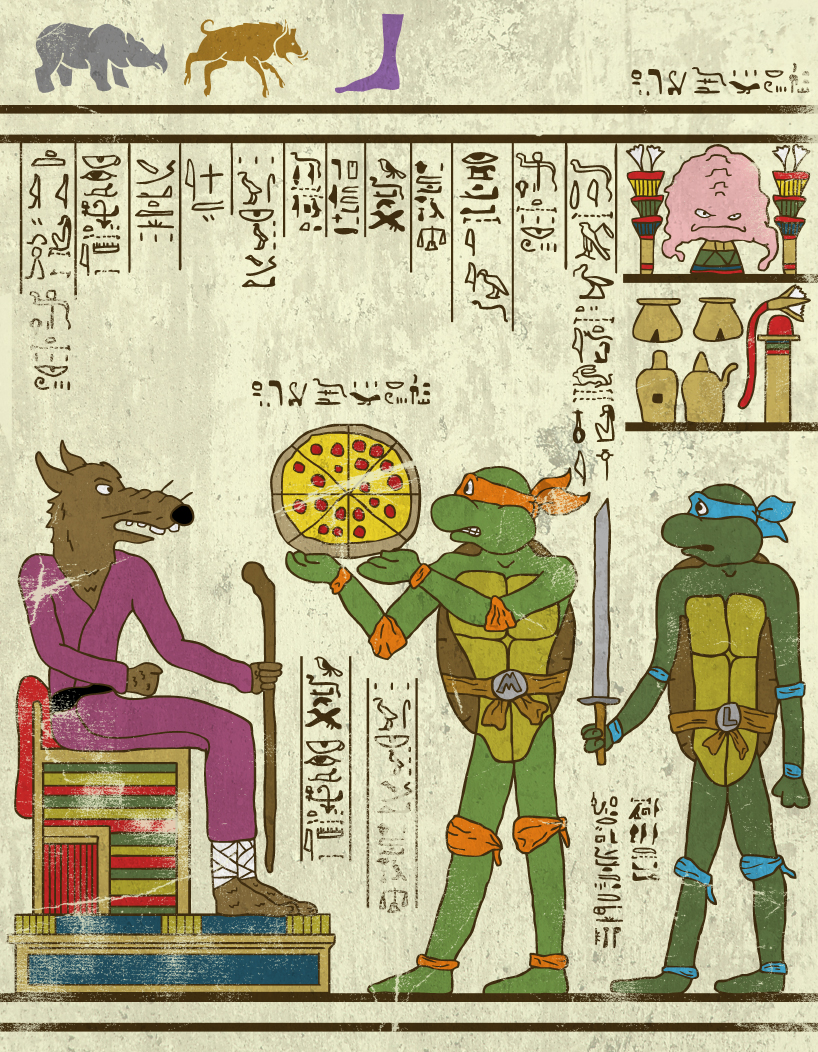 hero-glyphics-TMNT-josh-lane-illustration