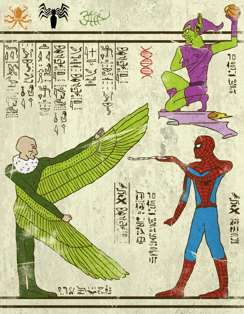 hero-glyphics-webslinger-josh-lane-oillustration