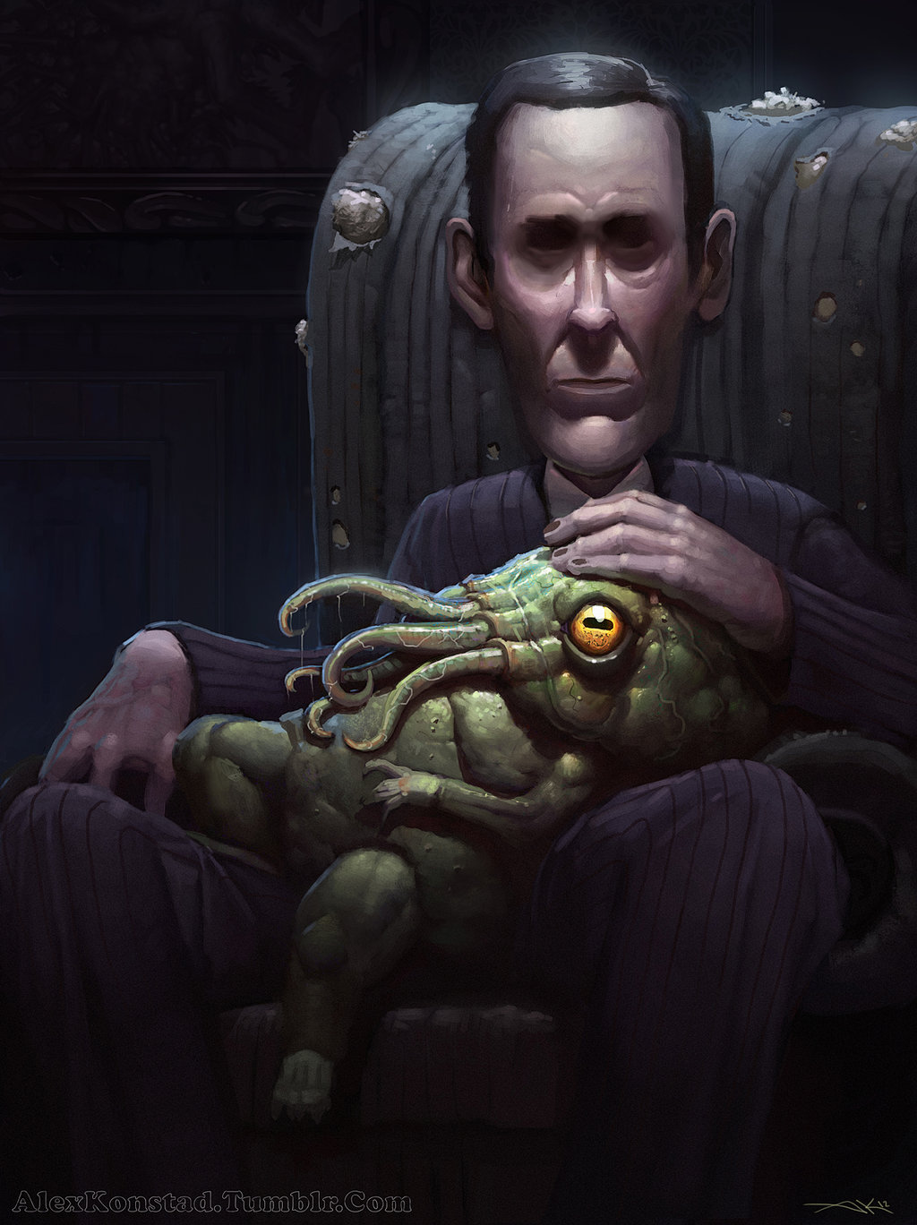 like_father_like_son-lovecraft-illustration