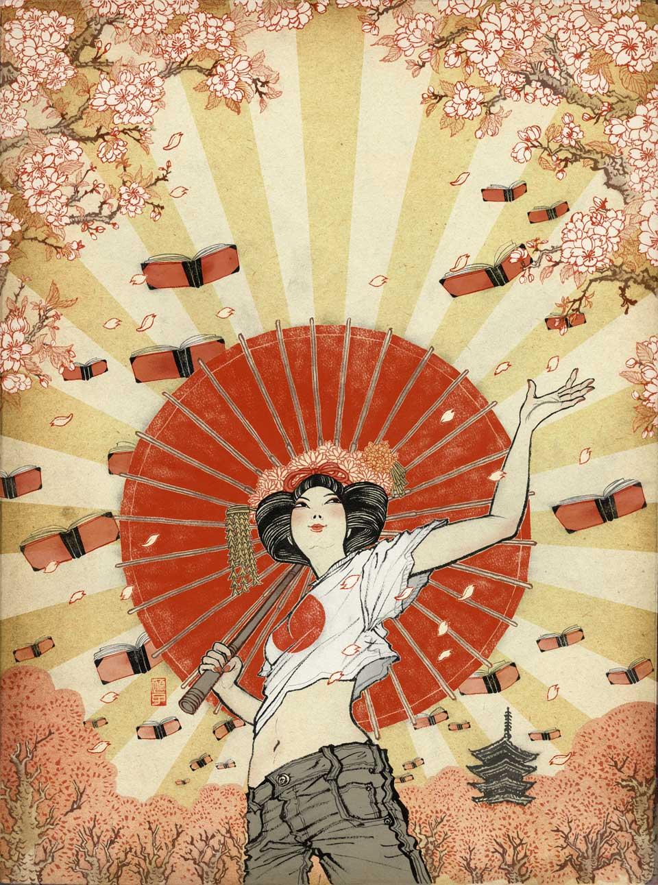 yuko shimizu illustration oldskull-11