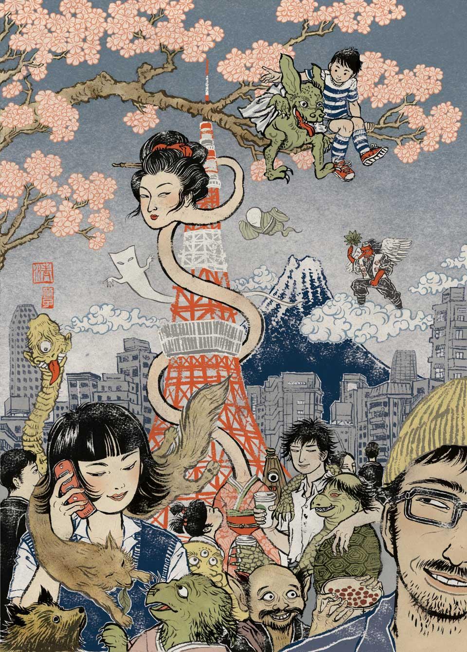 yuko shimizu illustration oldskull-13