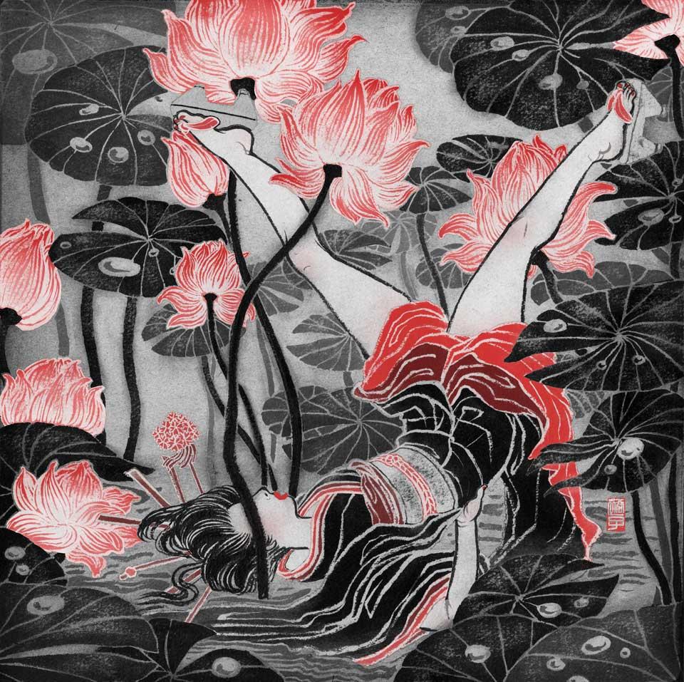 yuko shimizu illustration oldskull-8