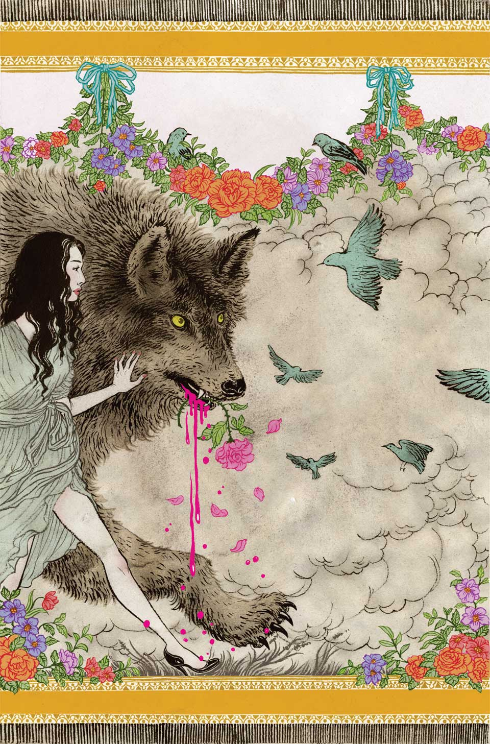 yuko shimizu illustration oldskull-9