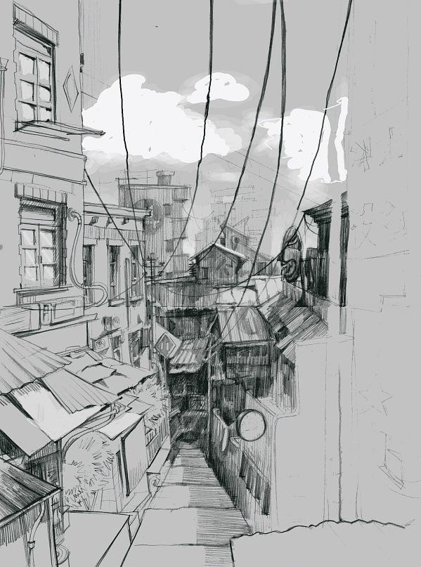 AndreyOsadchikh-dibujo-oldskull-24