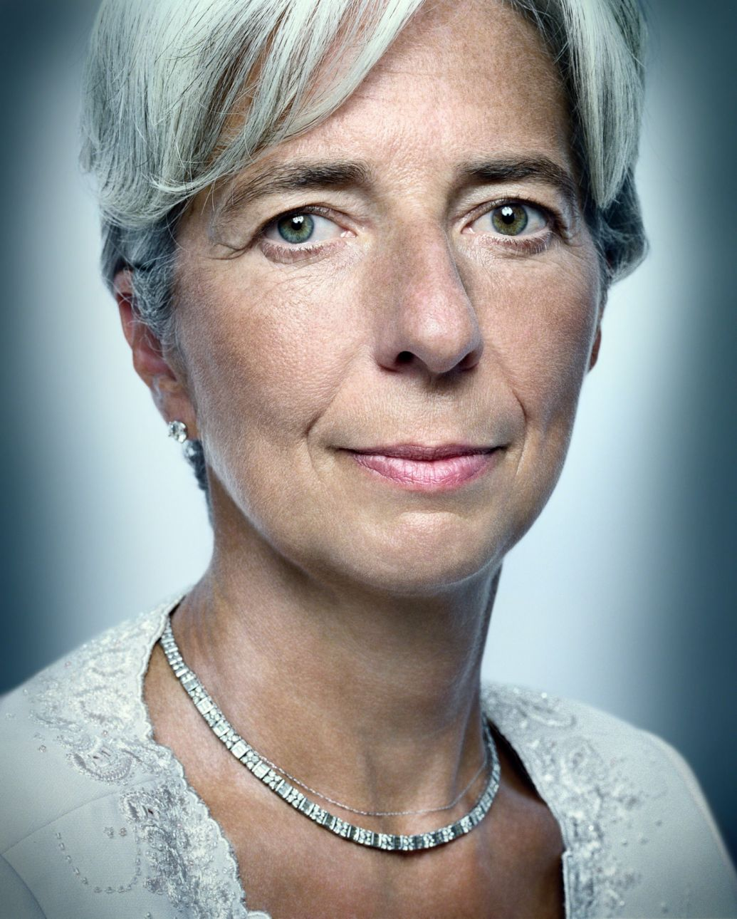 Christine Lagarde portrait photography