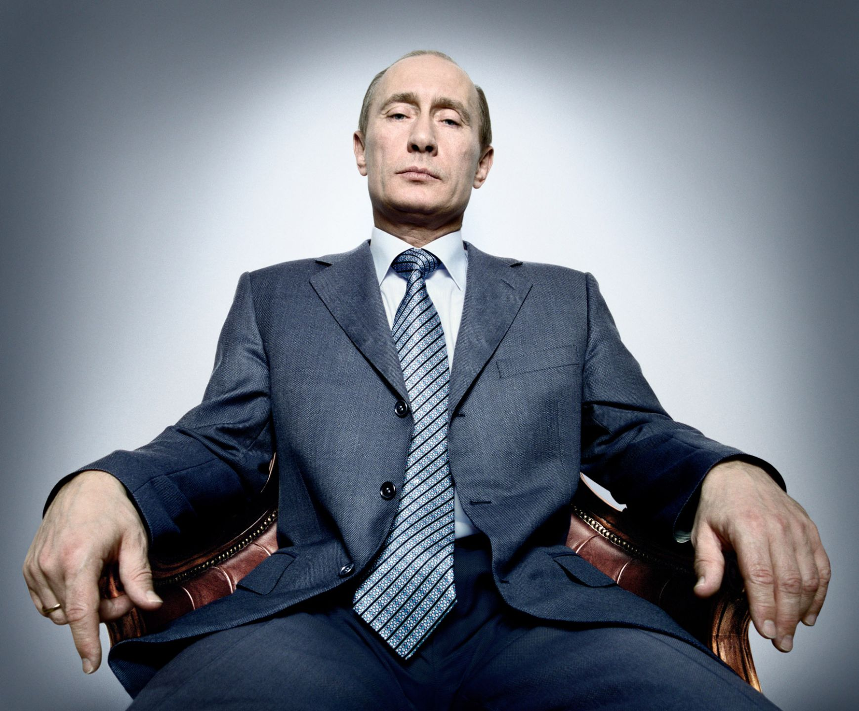 Putin portrait photography