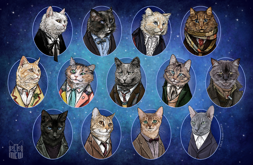 doctorwho-gatos