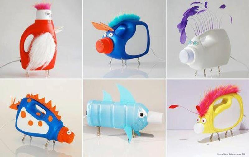 objetos reciclados oldskull1-7