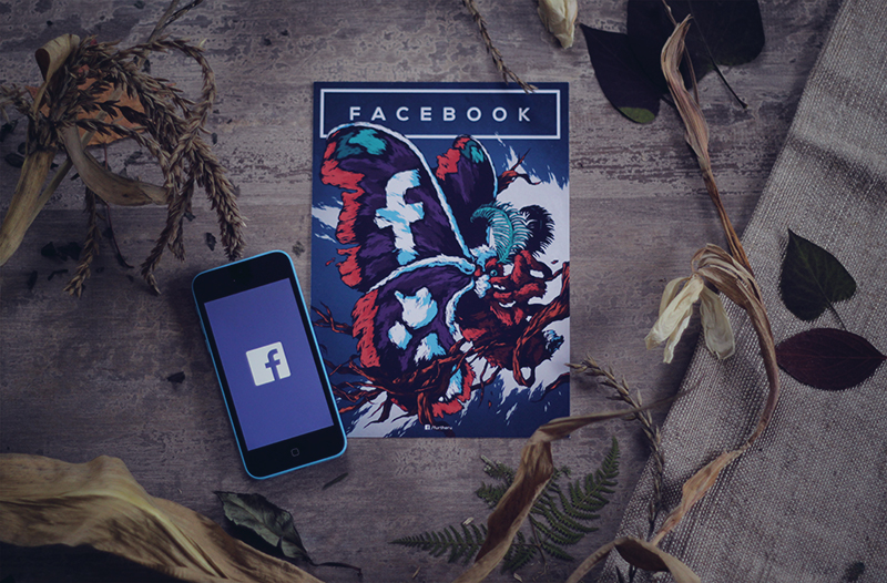 social networks illustration facebook 2