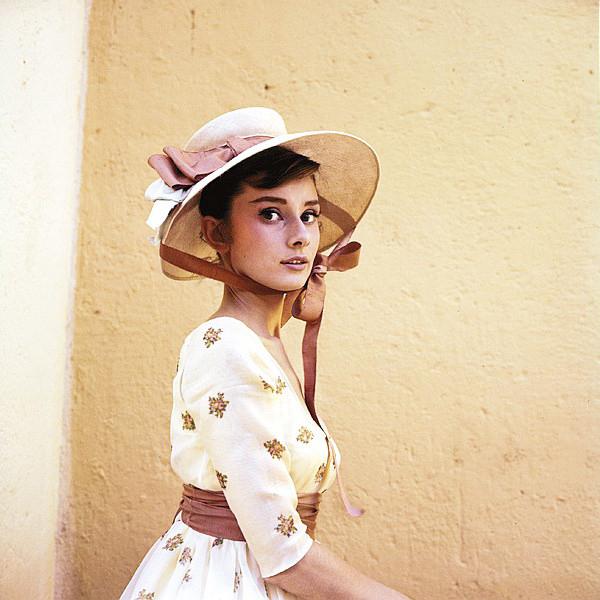Audrey Hepburn Milton greene 2