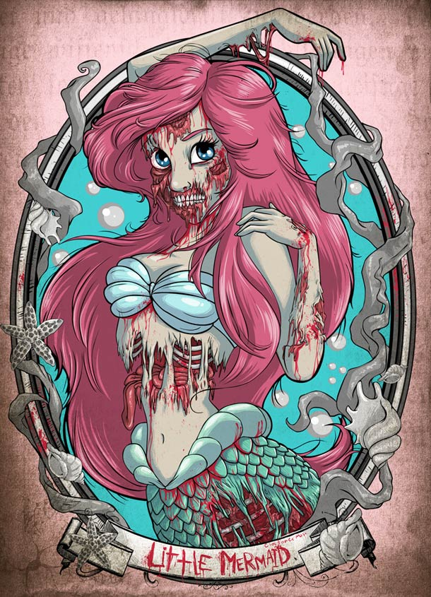 Zombies-Disney-Princesses-ariel