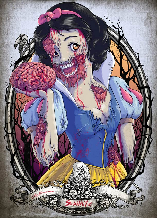 Zombies-Disney-Princesses-cenicienta