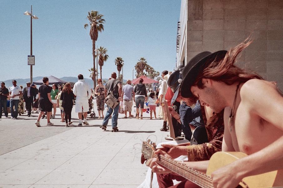 Venice beach people photography 11