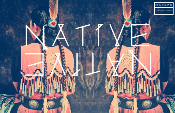 native free font 1