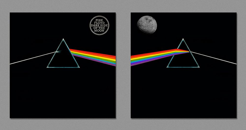 Dark side of album art 7