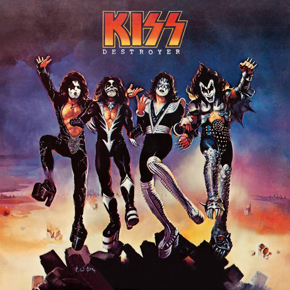 Kiss Destroyer front cover