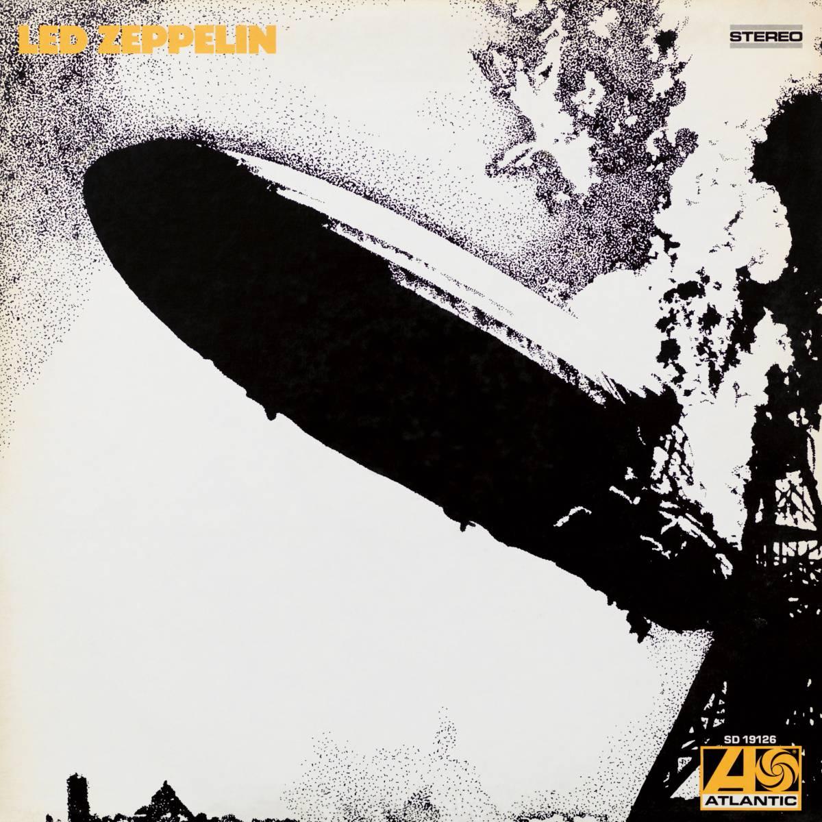 LedZepplin portada de disco rock