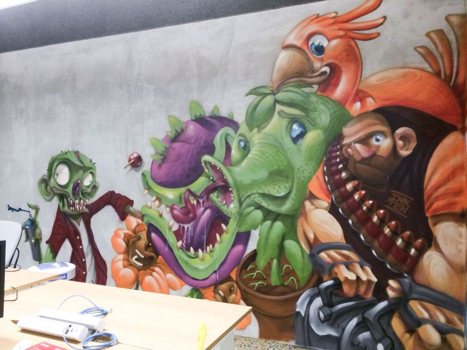 clogtwo illustration graffiti 10