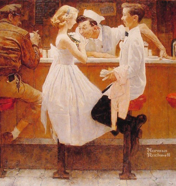norman rockwell 2-2