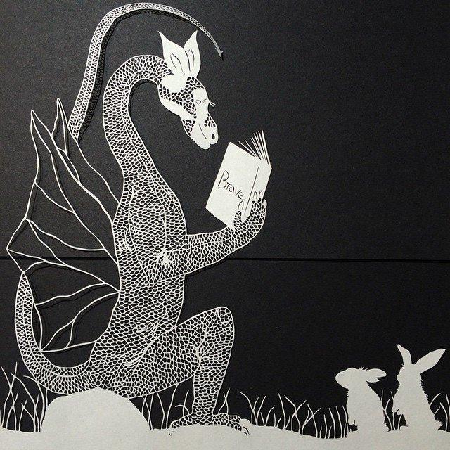paper cut illustrations 2
