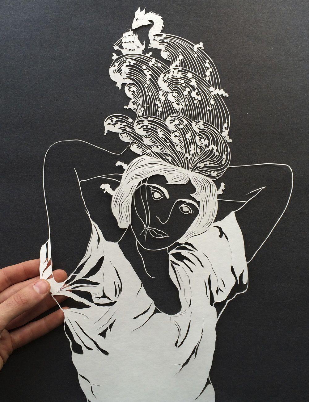 paper cut illustrations 5