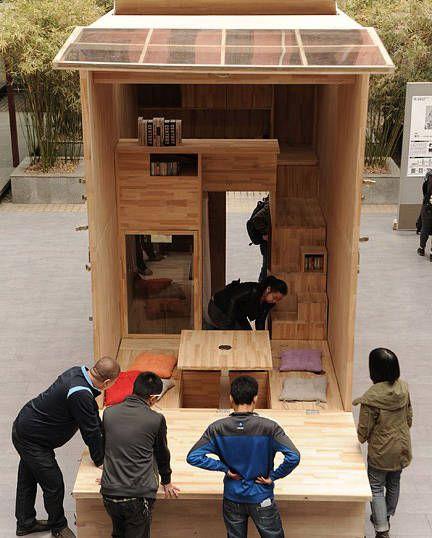 La casa de 7m² más cómoda del mundo