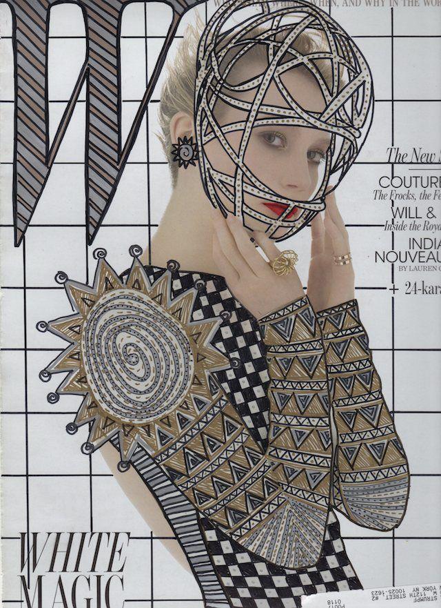 re cover magazines illustration oldskull 2