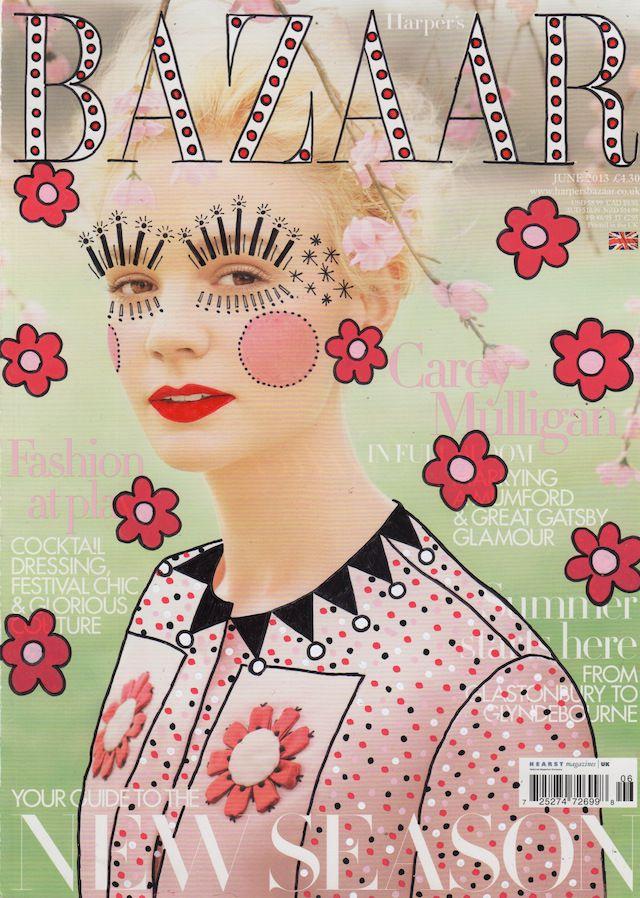 re cover magazines illustration oldskull 3