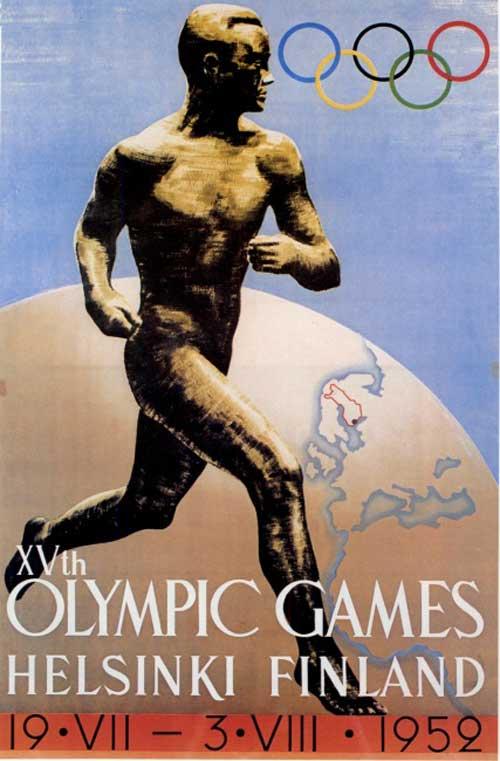 Olimpic games helsinki 1952