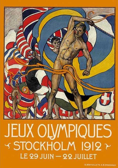 Olimpic games stockholm 1912