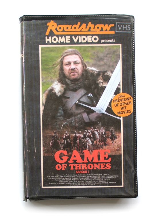 games of thrones in vhs