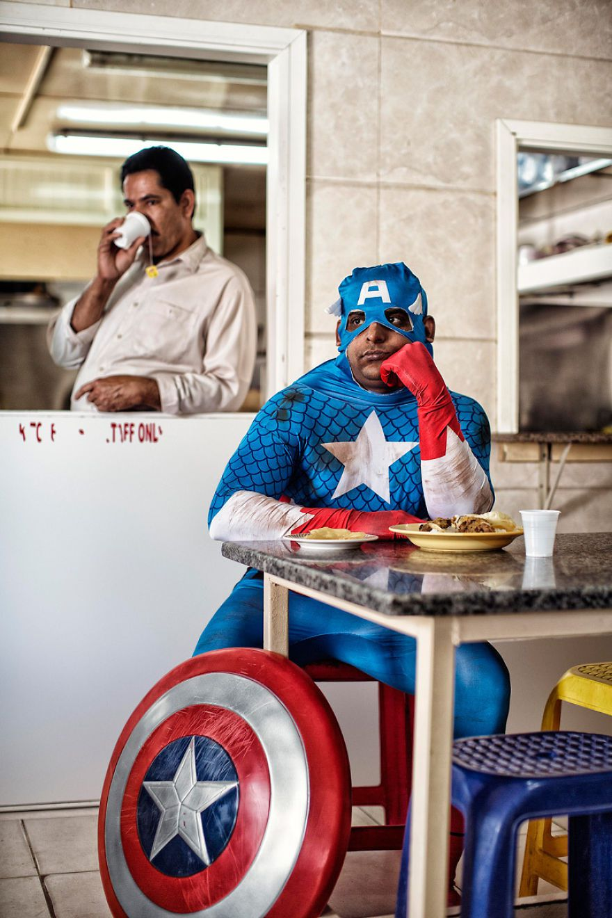 super heroes photography 1