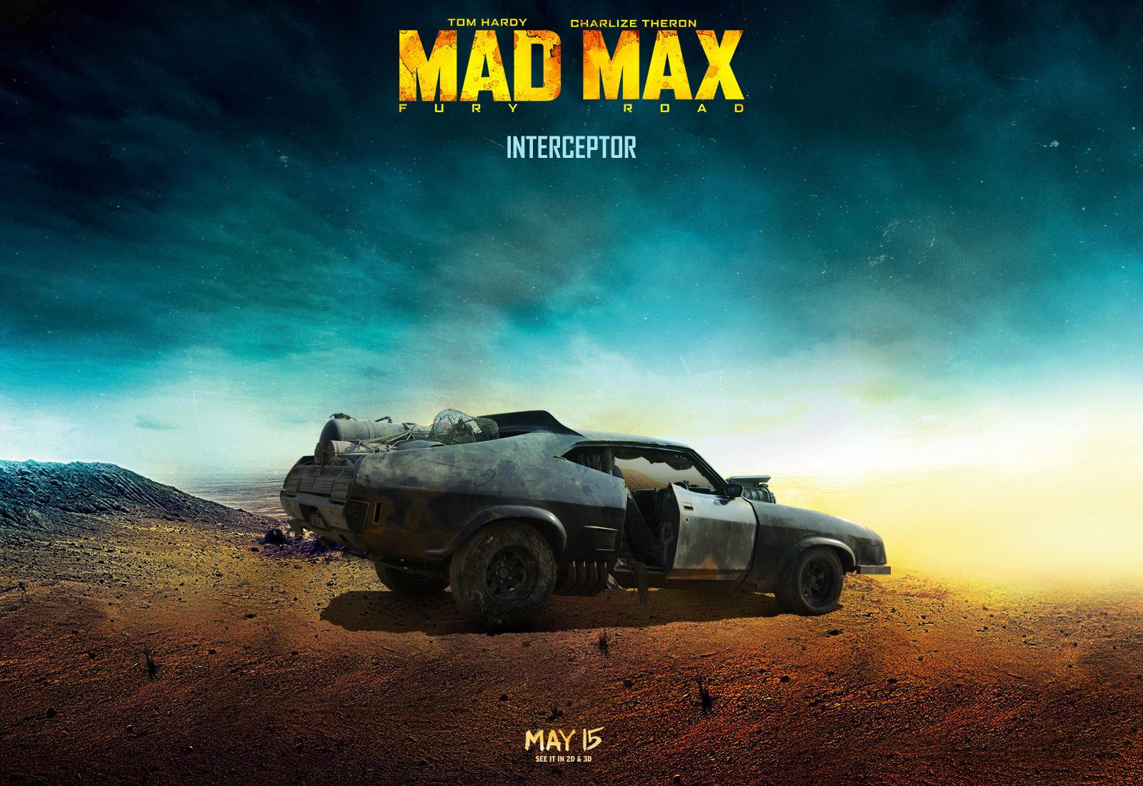 Los vehículos de Mad Max - Diseño gráfico
