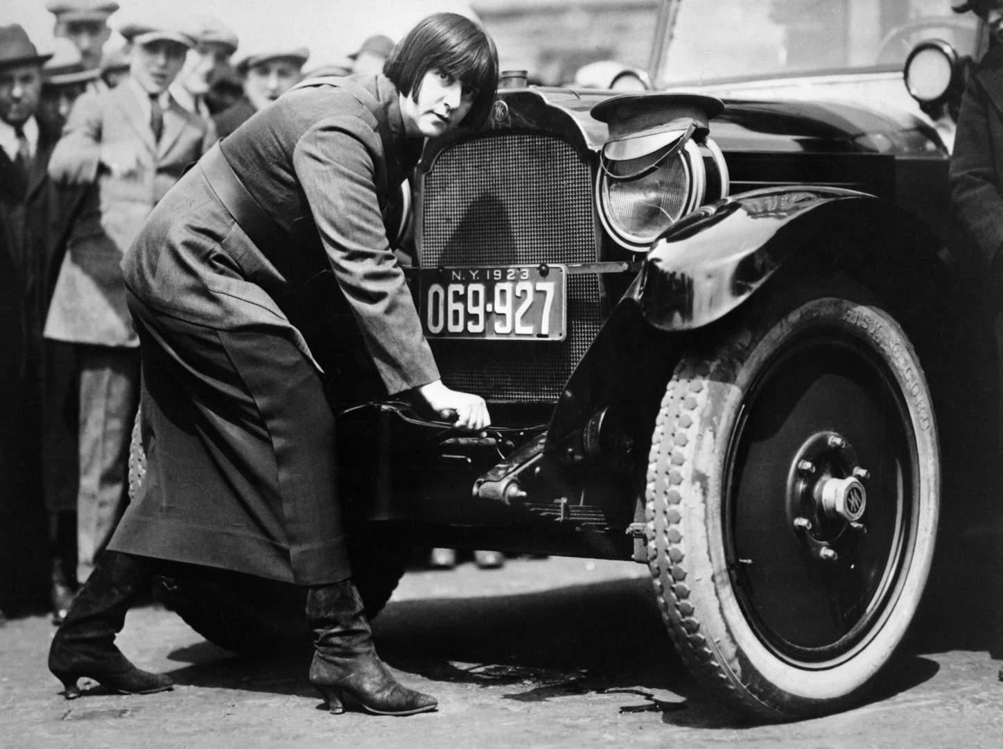 First Woman Taxi Driver in New York City