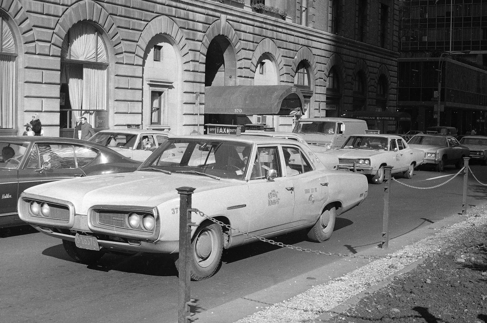 Watchf Associated Press Domestic News  New York United States APHS56514 NYC TAXI 1970