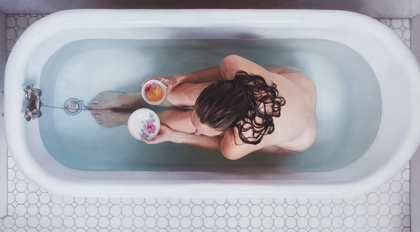 food women and hyperrealistic painting 6