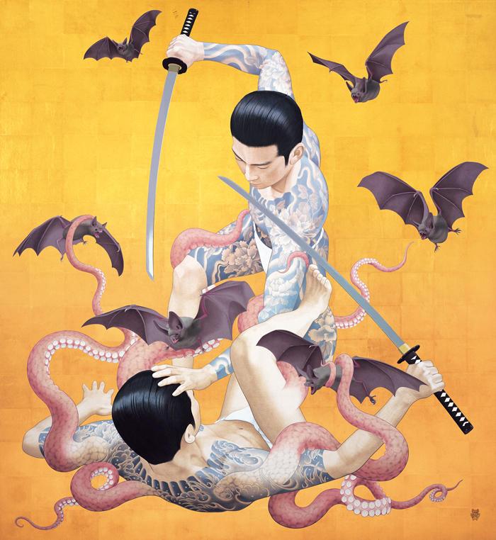 tenmyouya hisashi japanese painting 0