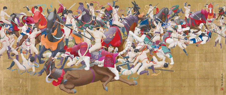 tenmyouya hisashi japanese painting 2