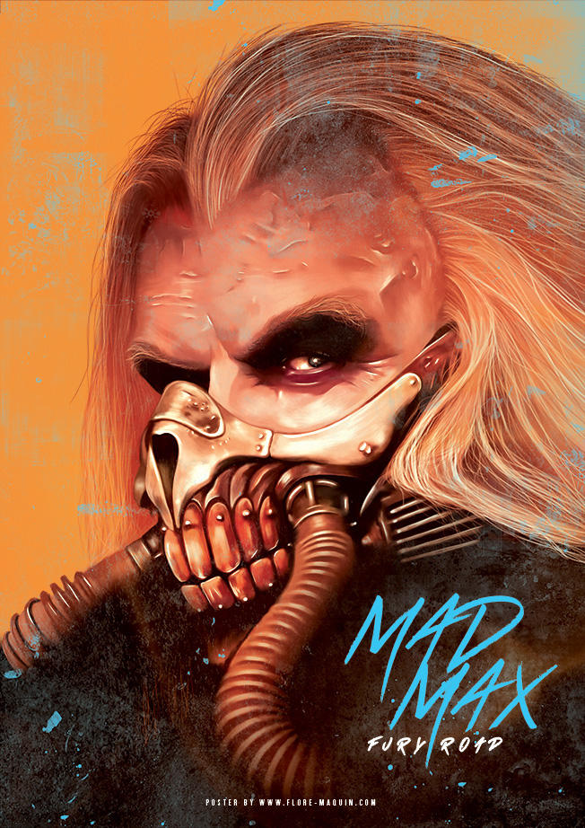 Flore Maquin  movie posters illustration mad max