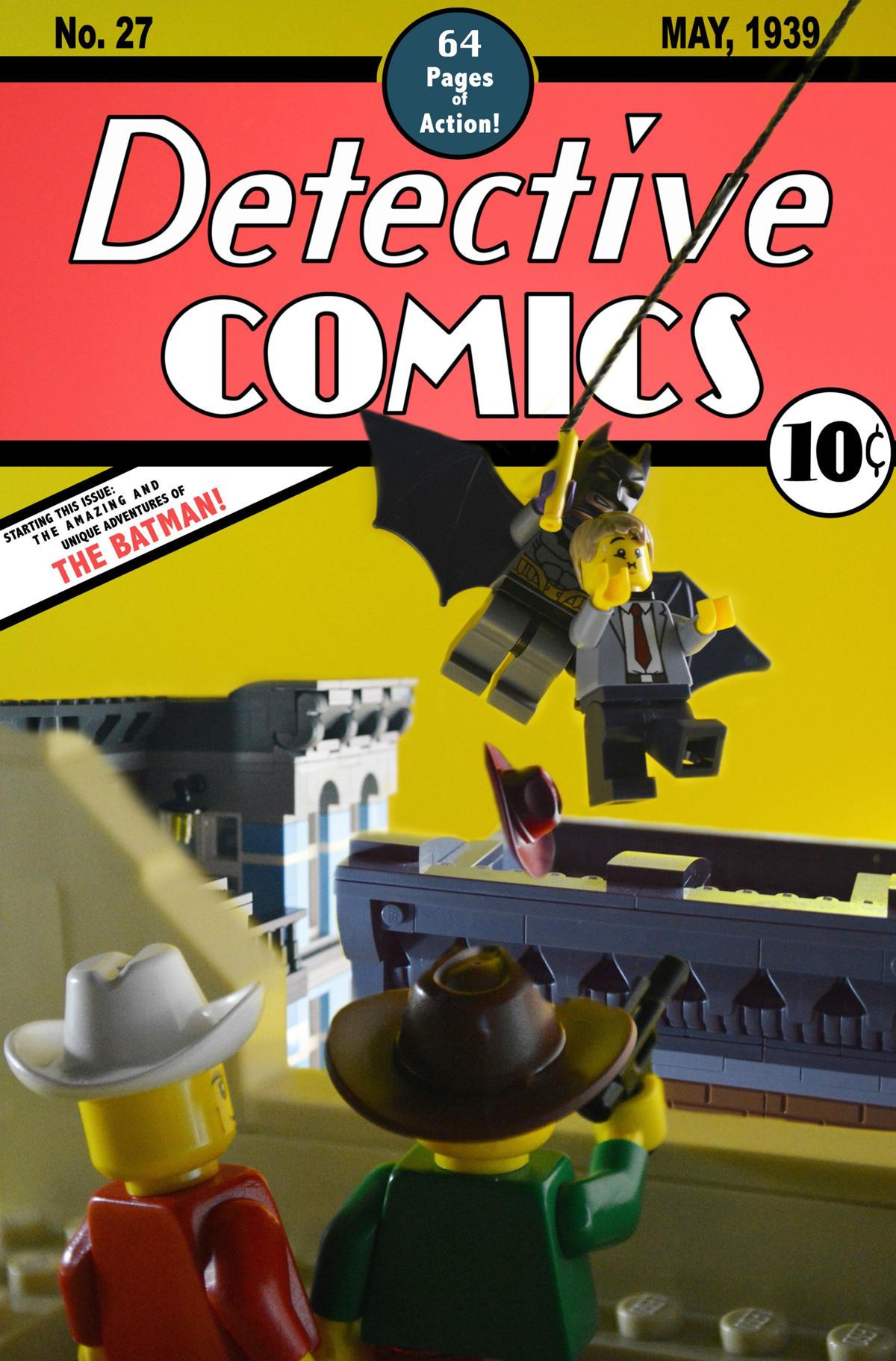 detective comics 27 lego