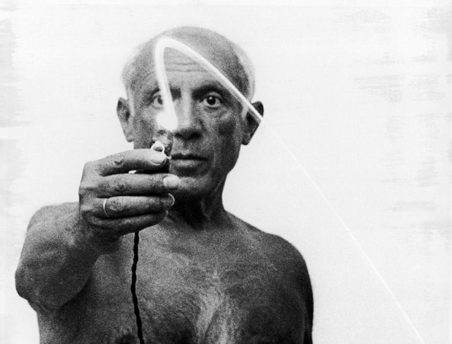 Las desconocidas pinturas de luz de Pablo Picasso - Fotografía