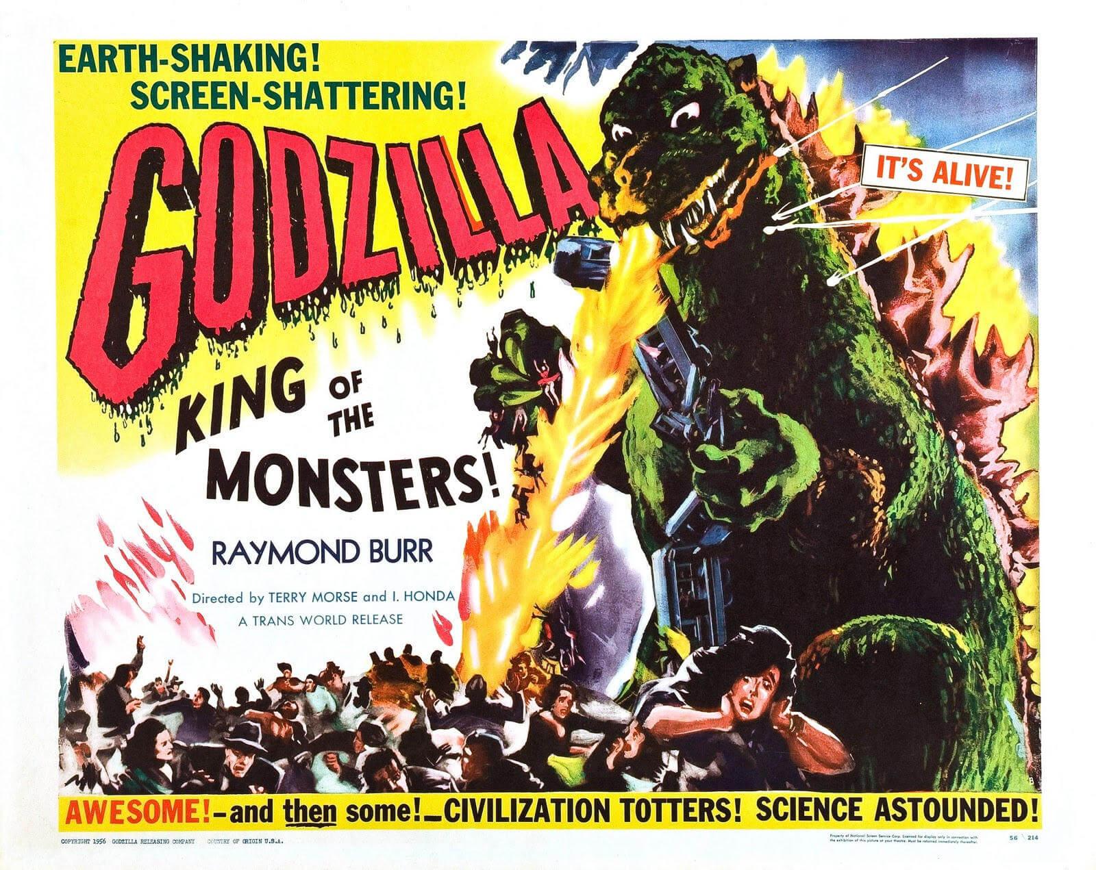 Godzilla: Los posters más bizarros del monstruo japonés